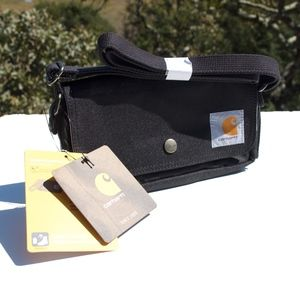 Carhartt Black Crossbody Canvas Bag NWT